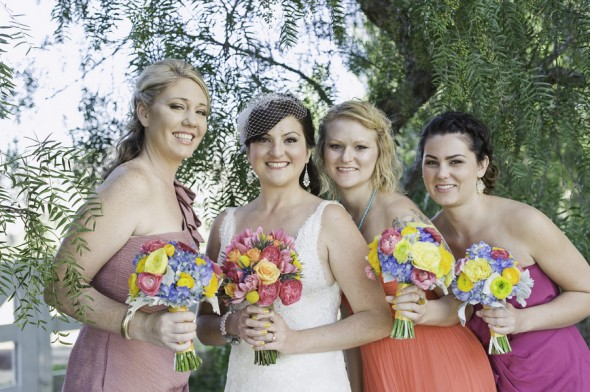 Colorful Bridesmaid Dresses