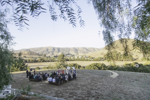 Ranch Wedding Setting