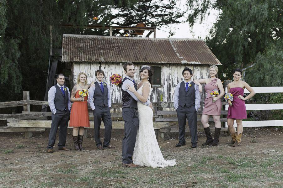 Rustic Style Ranch Wedding