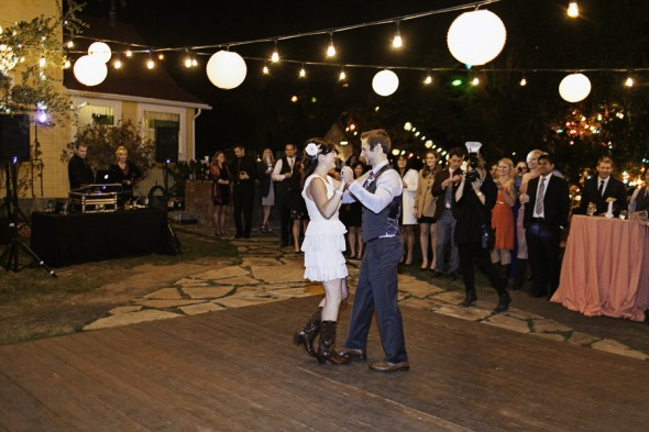 Rustic Ranch Wedding At Night