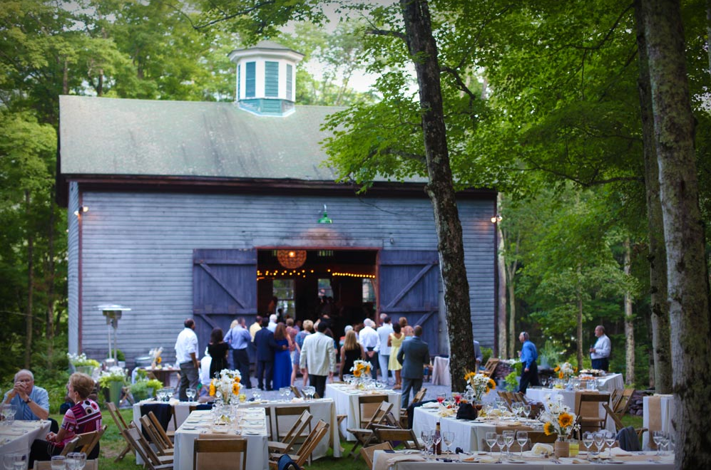 All The Best Places For A Barn Wedding