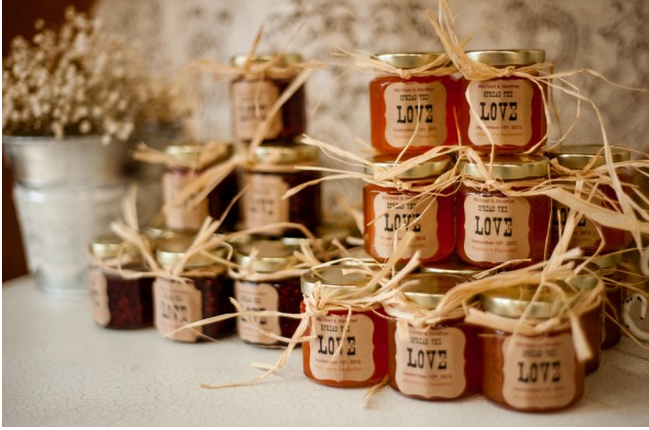 Jam Wedding Favors