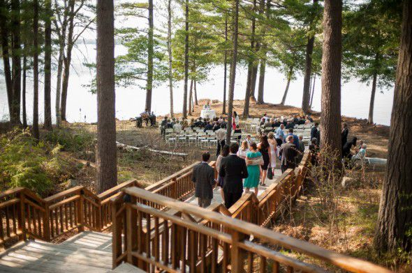 Wedding Lakeside In The Woods