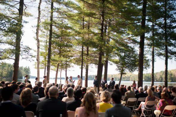 Canadian Rustic Lake Wedding