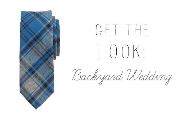 Get The Look : Backyard Wedding