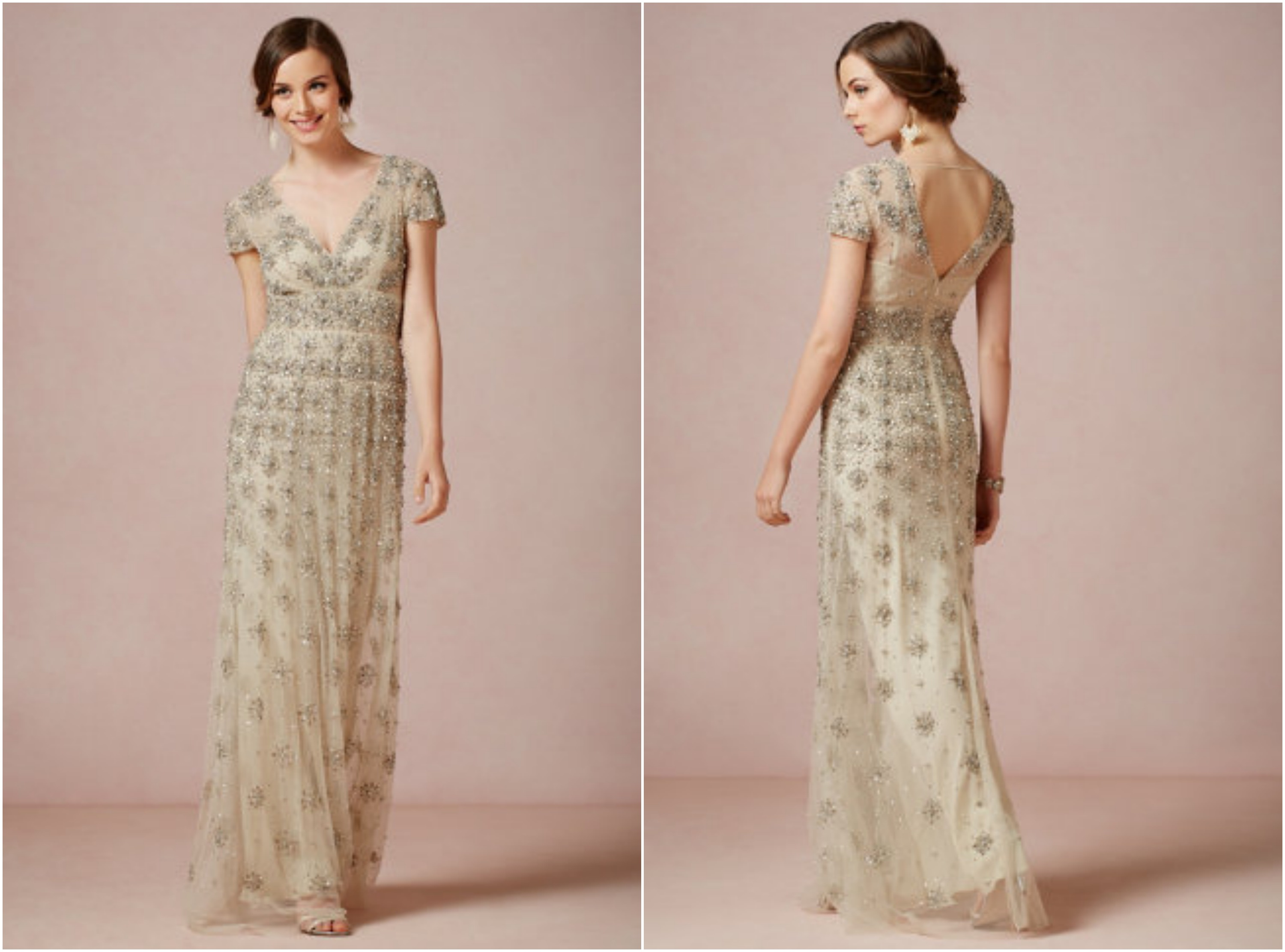 Bhldn fall wedding gowns rustic wedding chic for Bridesmaid dresses for a rustic wedding