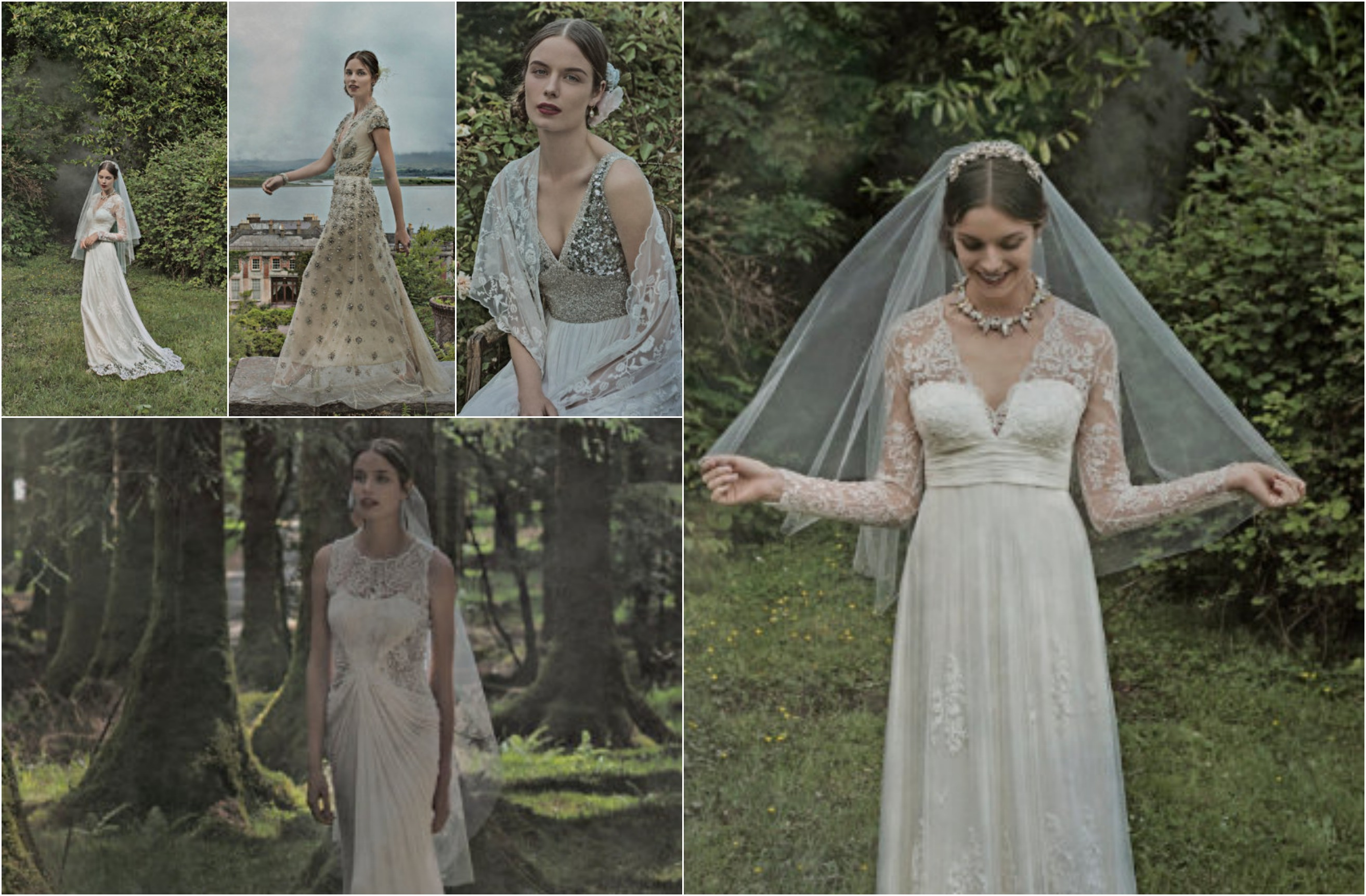 Wedding Dresses For Fall Wedding In The Woods BHLDN Fall Wedding Gowns