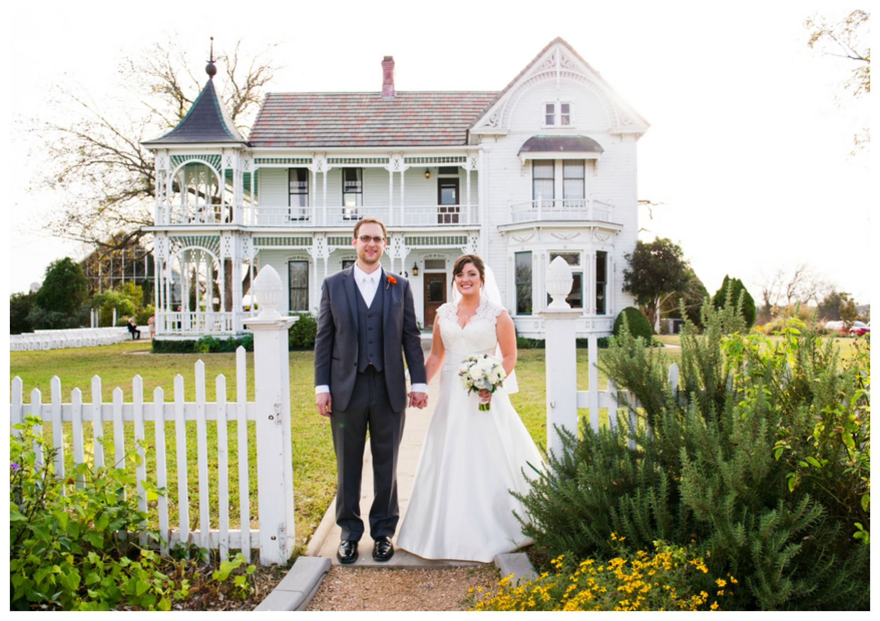 Vintage austin farmhouse wedding rustic wedding chic for Classic bridal house johor