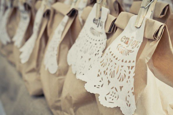 Brown Bag Wedding Favors