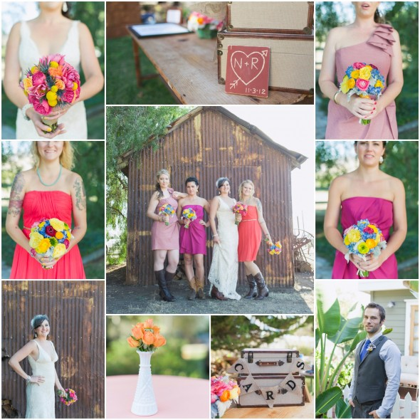 Colorful Ranch Wedding
