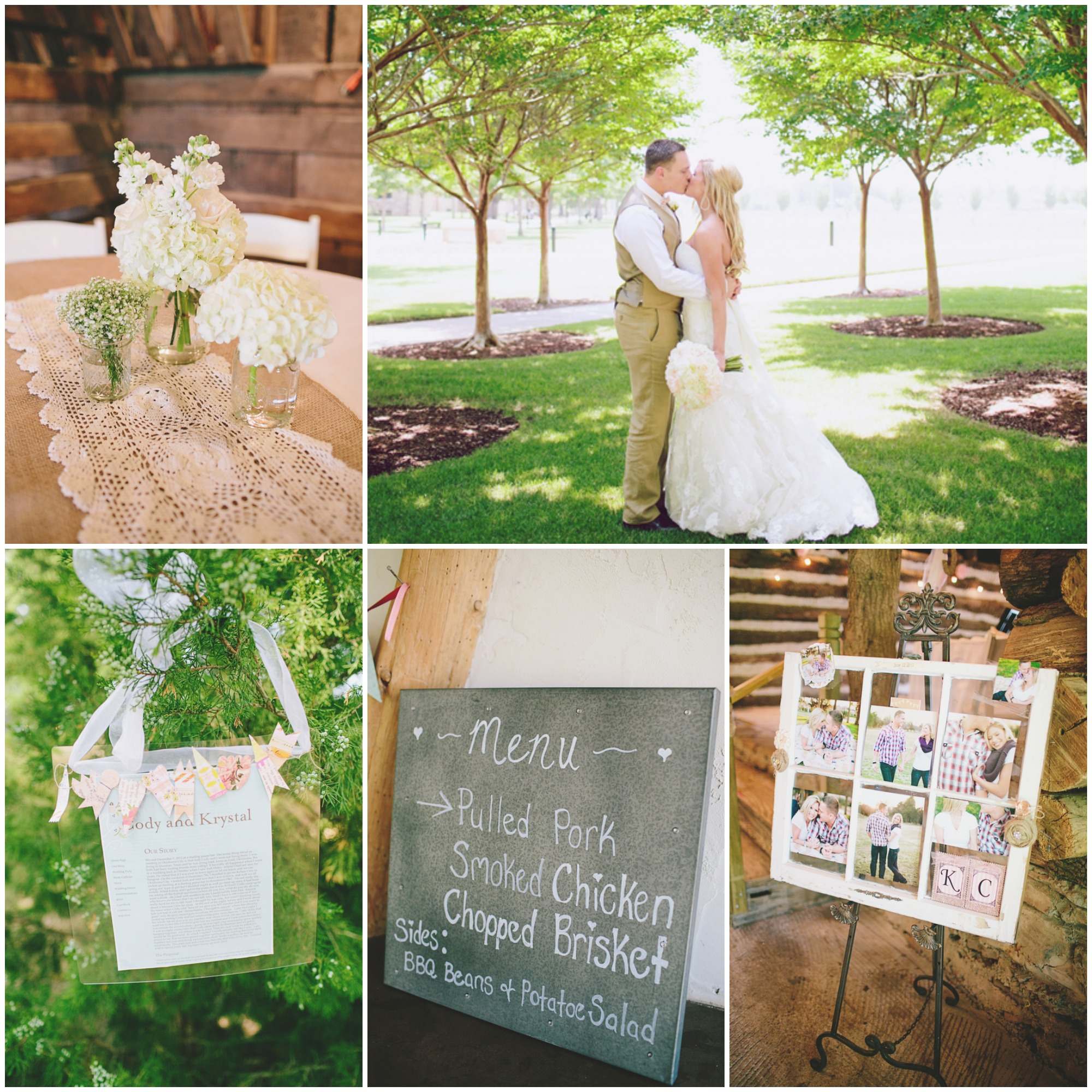 Southern Barn Wedding At Vive Le Ranch
