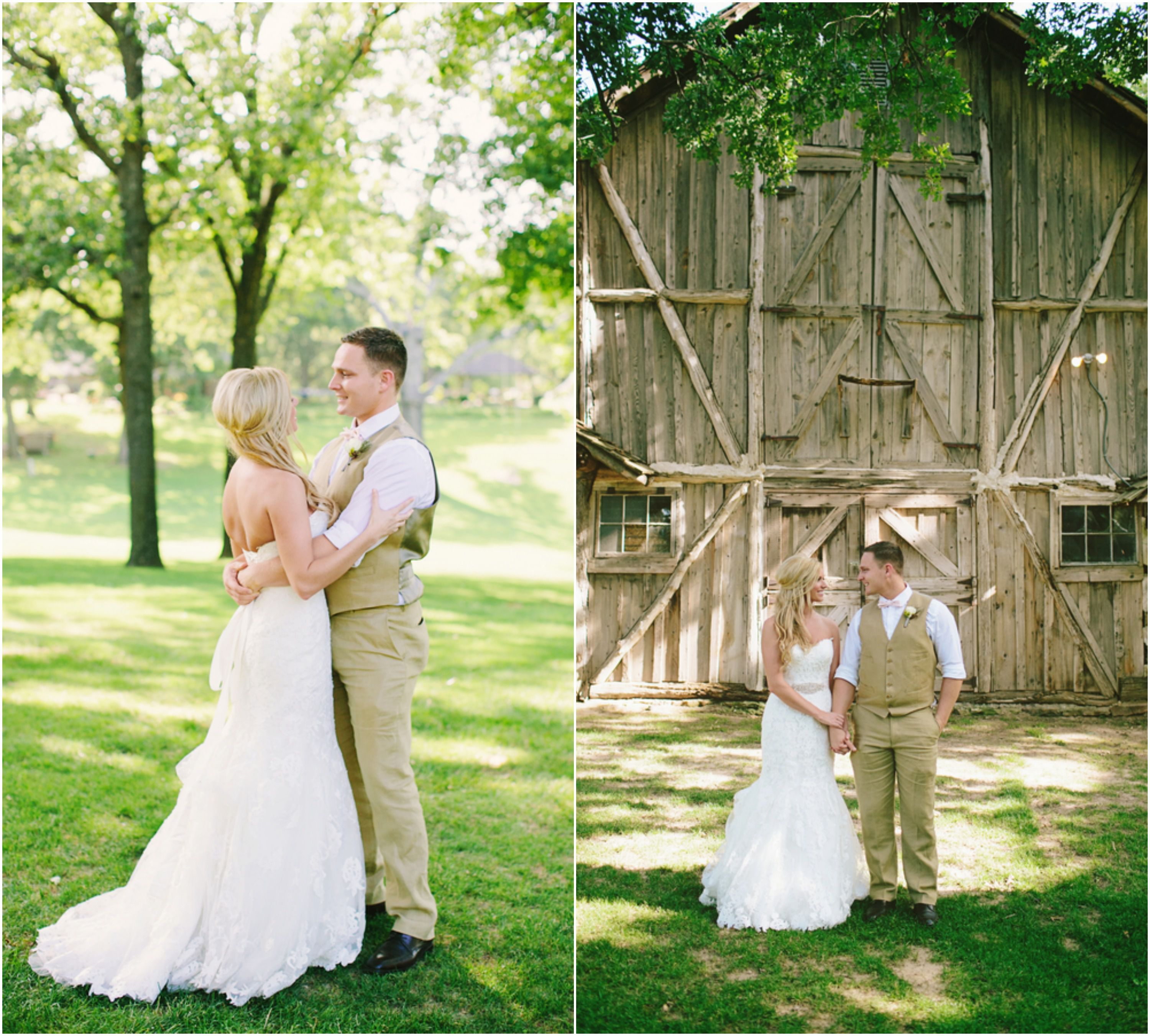 Southern Barn Wedding At Vive Le Ranch - Rustic Wedding Chic