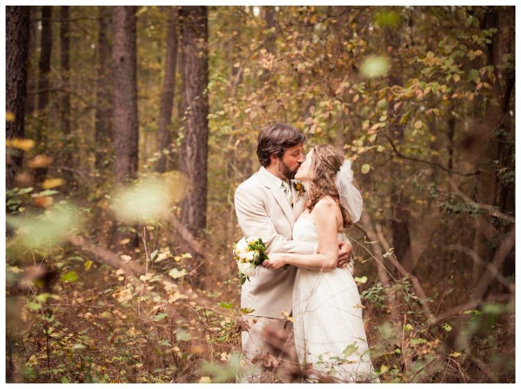 South Carolina Woods Wedding