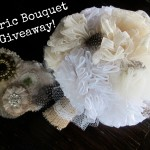 Fabric Wedding Bouquet