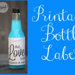 Printable Bottle Labels For Wedding