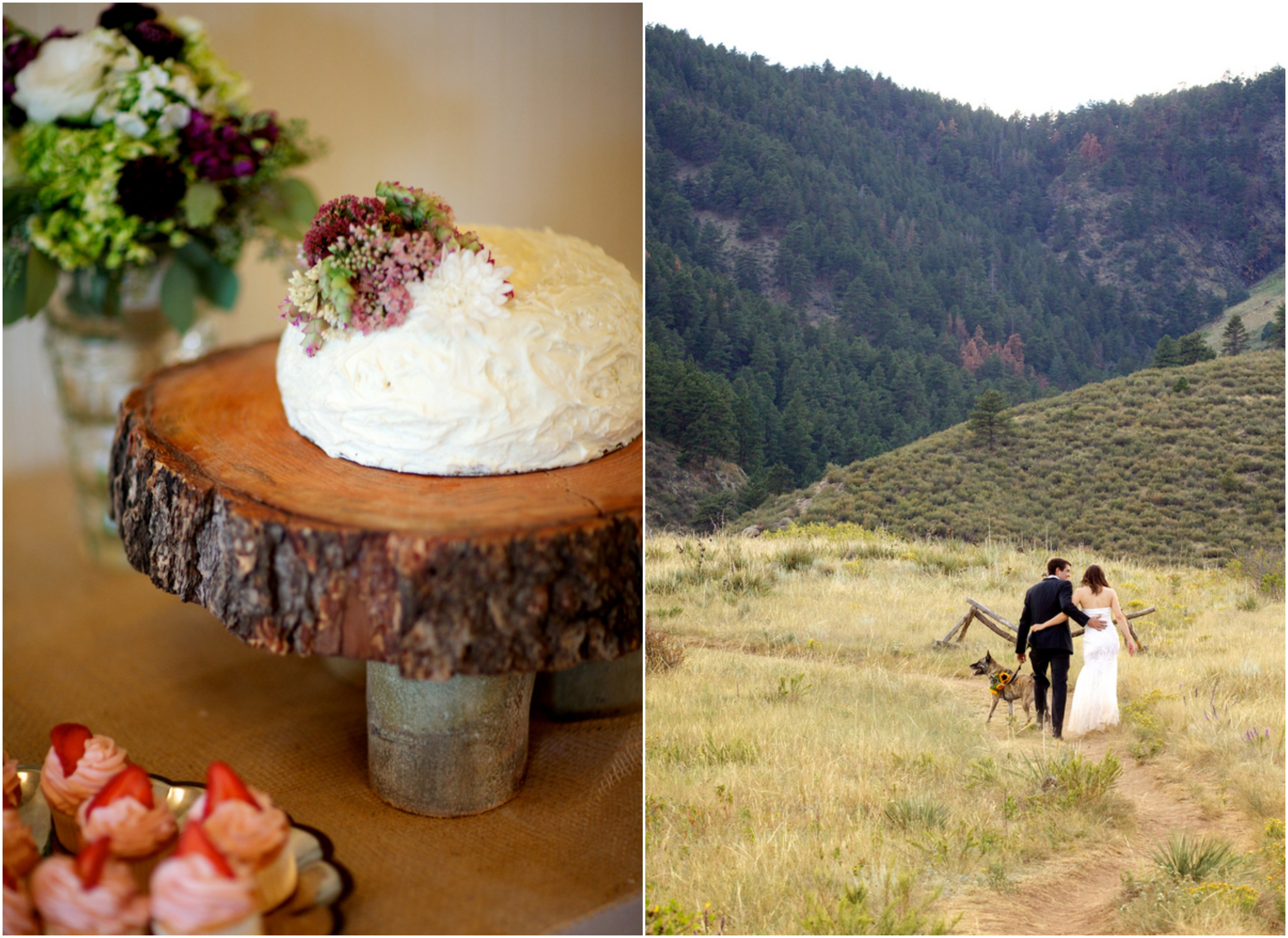 Outdoor Colorado Mountain Wedding