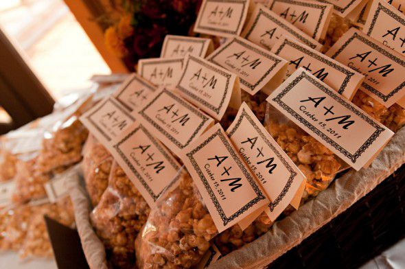 Rustic Wedding Favor Idea