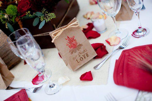 Smore Rustic Wedding Favor