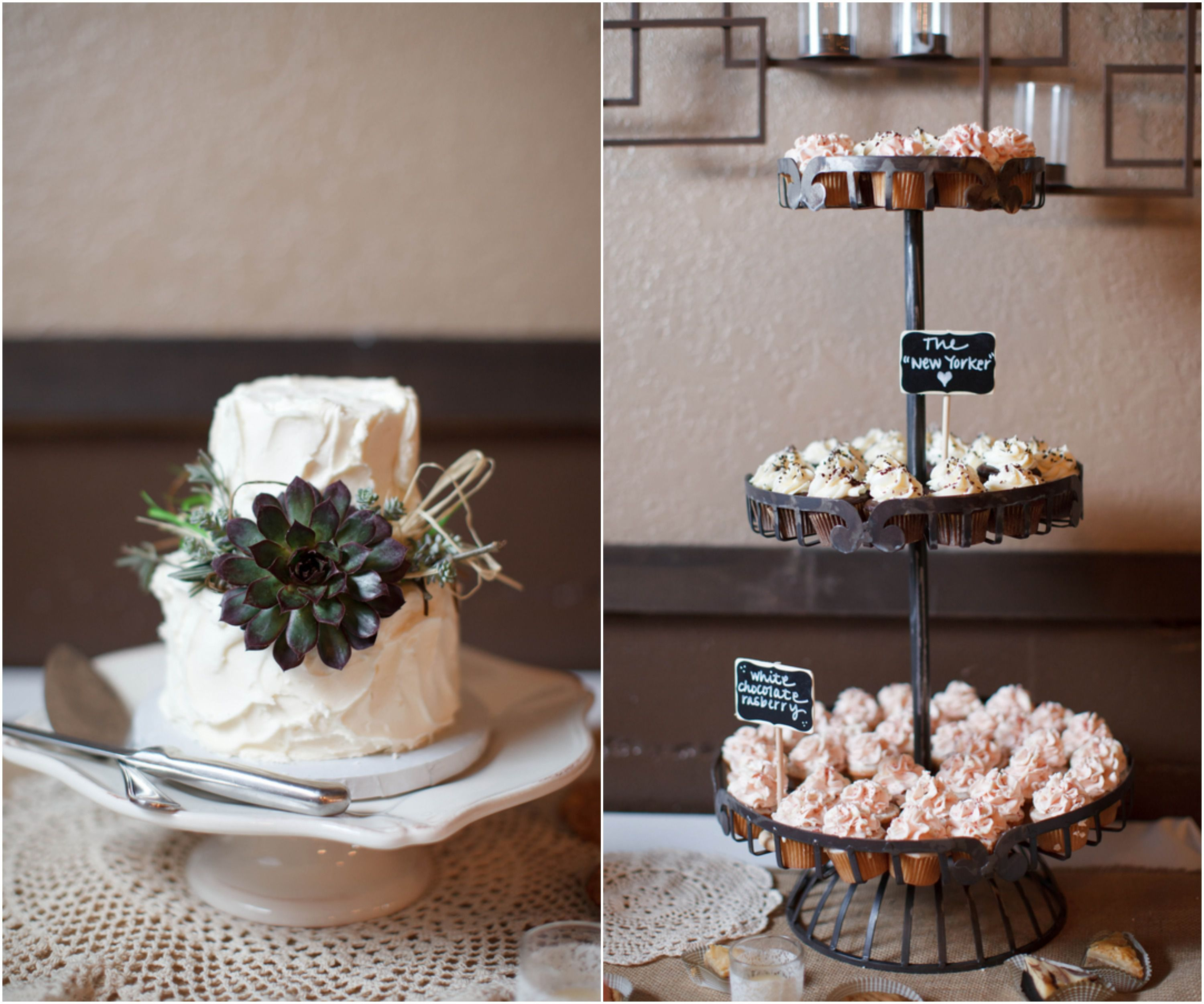 Rustic Chic Wedding Cakes: Romantic Rustic Country Wedding