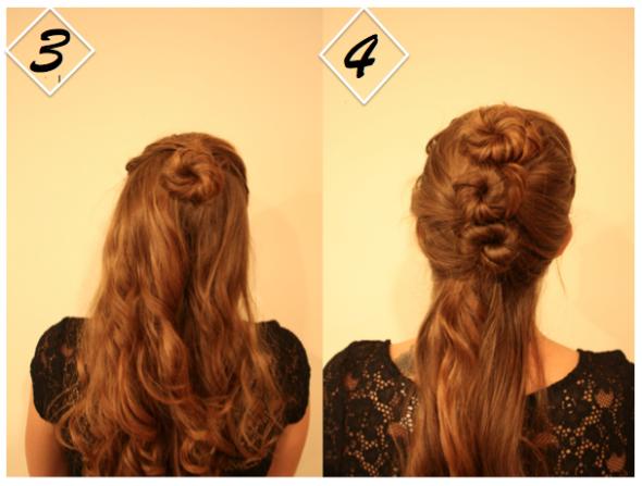 Rustic Wedding Hair Up Do