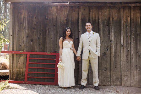 Vintage Style Farm Wedding