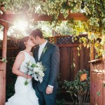 Country Rustic Wedding Couple