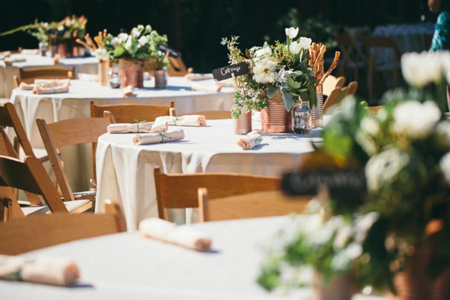 Rustic Elegant Backyard Wedding : Elegant Backyard Wedding  Rustic Wedding Chic
