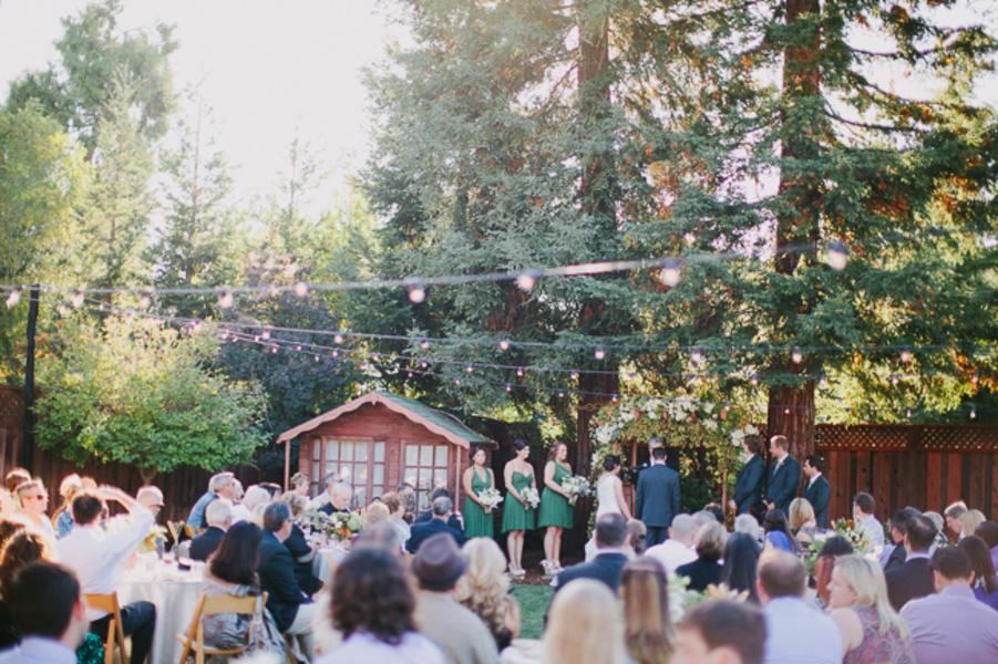 Elegant Backyard Wedding  Rustic Wedding Chic