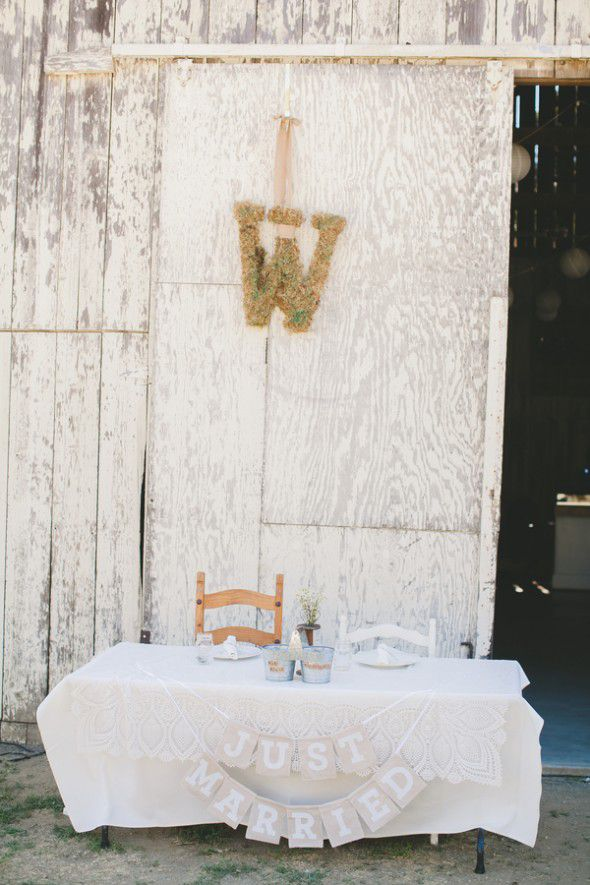 Barn Wedding Seating