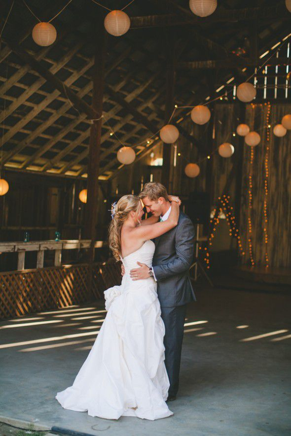 Barn Wedding At Night