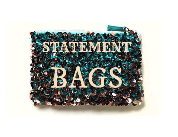 Statement Bags for Rustic Wedding Guests - Rustic Wedding Chic