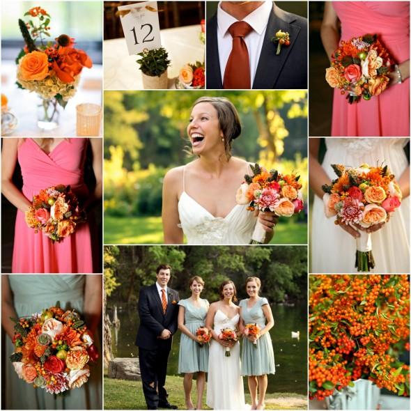 Fall Rustic Lodge Wedding