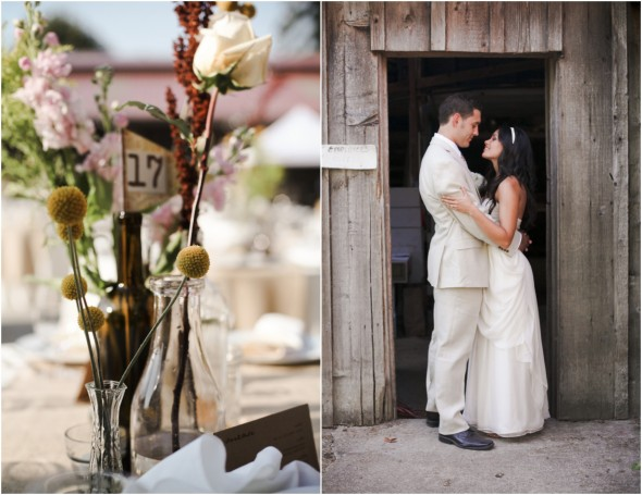 Vintage Style Farm Wedding Rustic Wedding Chic
