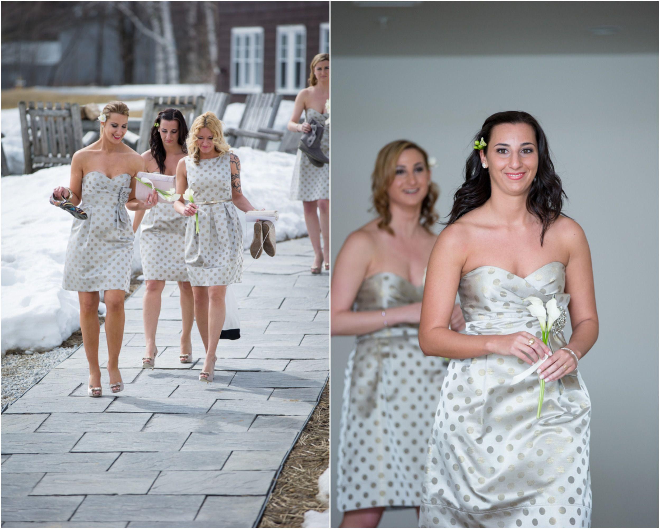 Winter Rustic Wedding At The Mountain Top Inn & Resort