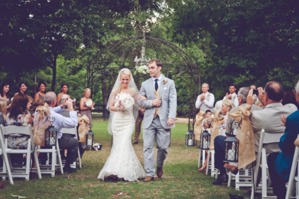 Southern Farm Wedding Ceremony