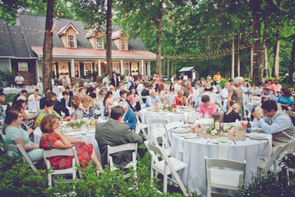 Southern Farm Wedding