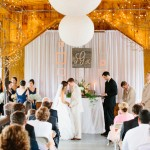 Elegant Rustic Wedding Ceremony