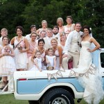 Pickup Truck Getaway Wedding Car