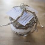 DIY Recipe Jar Wedding Favors