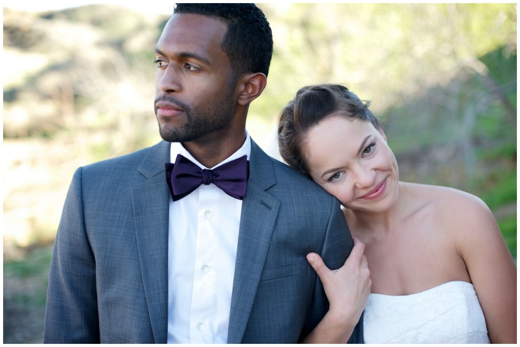 Intimate Rustic Backyard Wedding - Rustic Wedding Chic