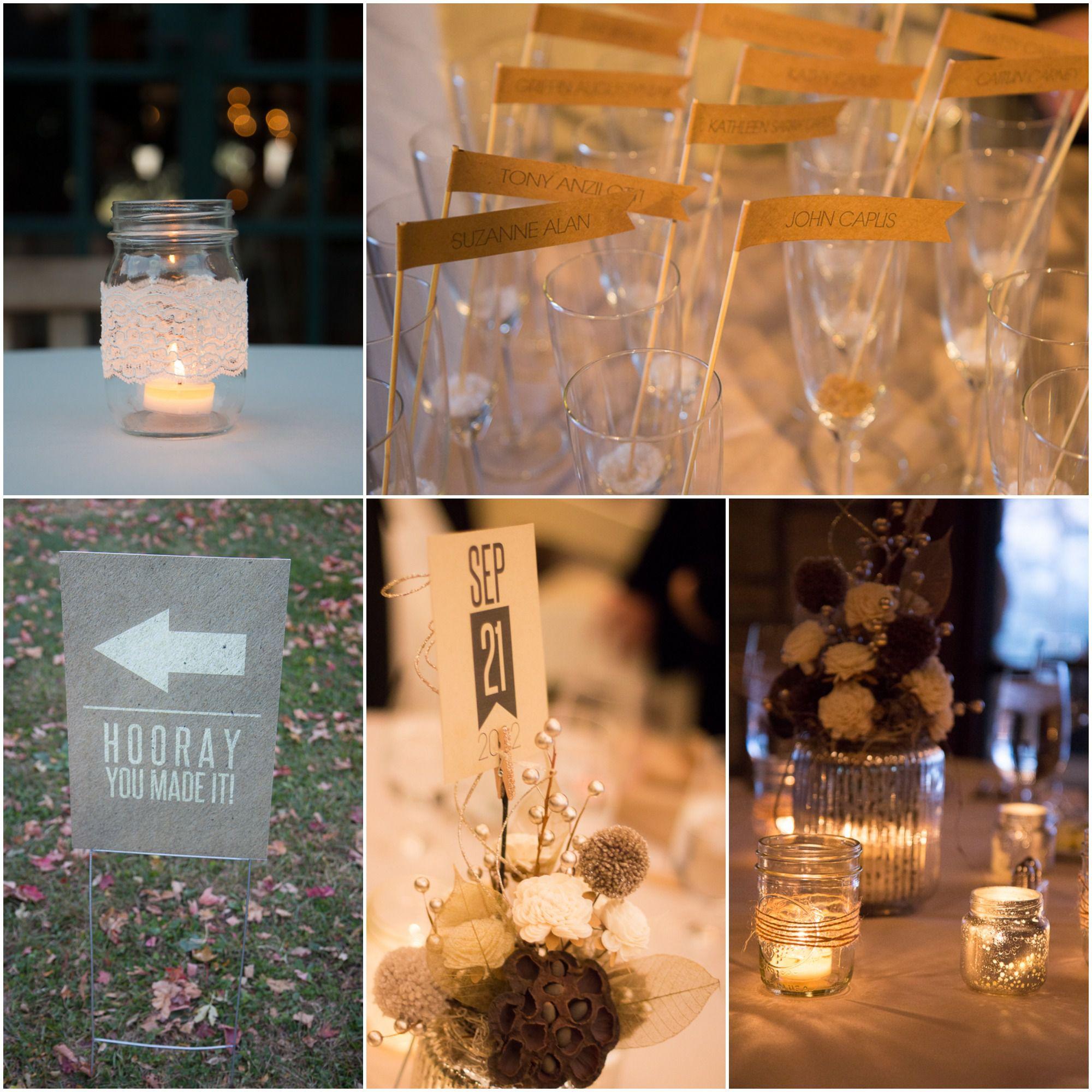 Elegant Country Wedding Ideas: Rustic Fall Chicago Wedding