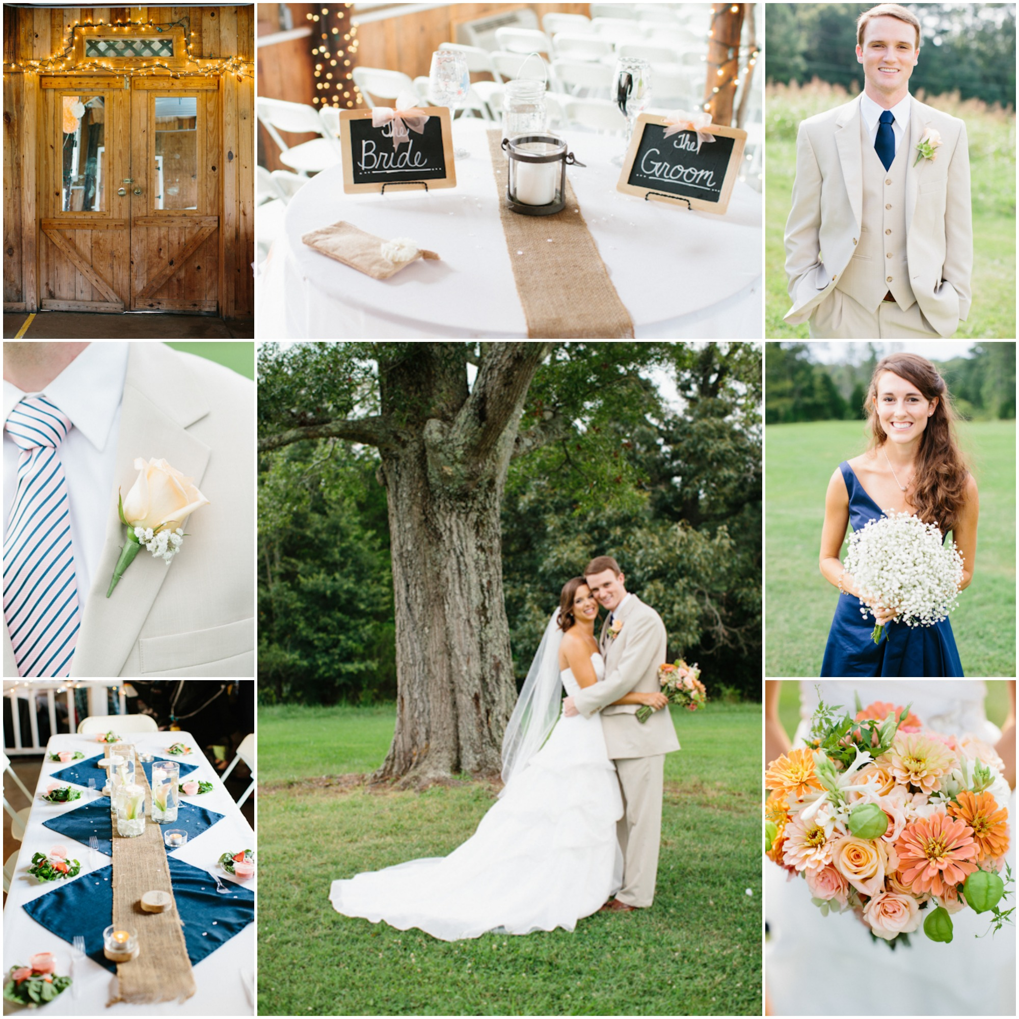 North Carolina Farm Wedding: Kiersten + Sam