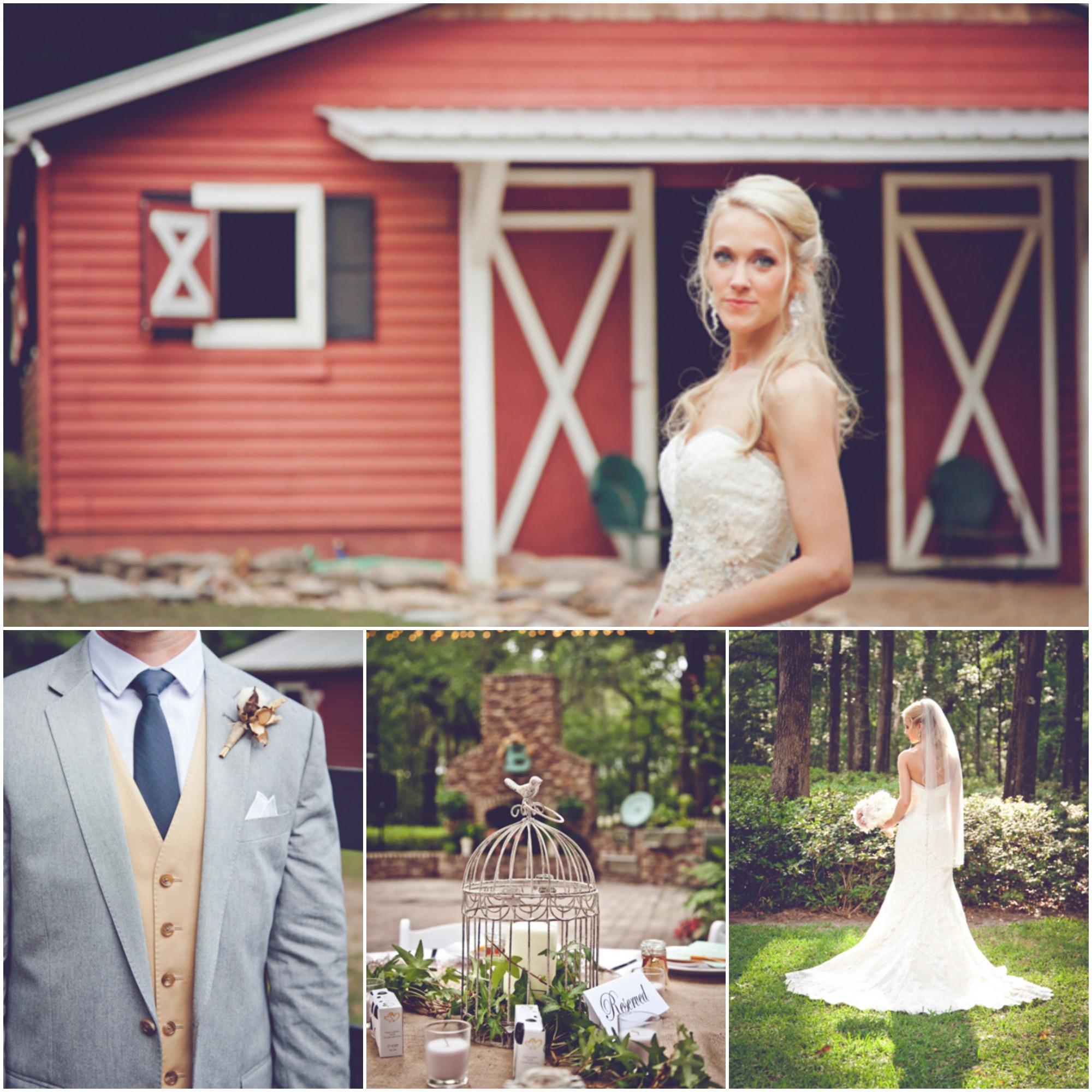 Rustic Barn Weddings In Ga: Georgia Farm Wedding At Jingle Bell Farm