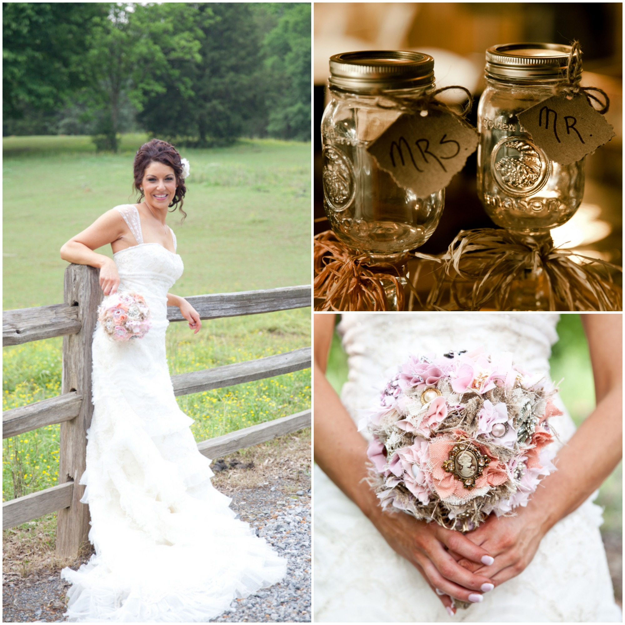 Southern Country Barn Wedding