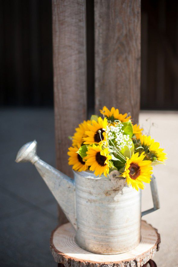 Watering Can Vase For Wedding