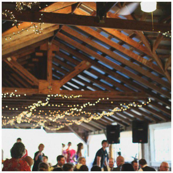 Ideal Barn Wedding Reception