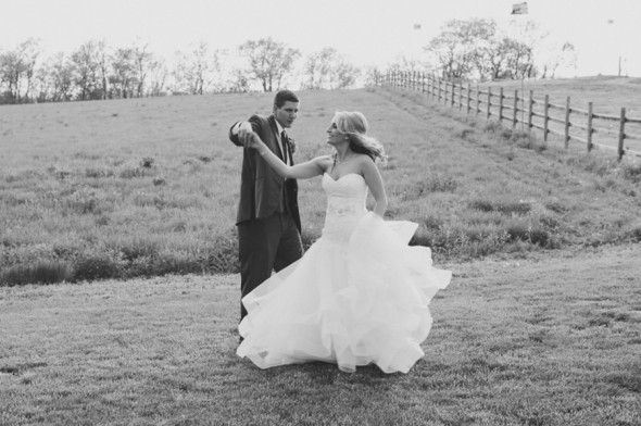 Twirling the Bride!
