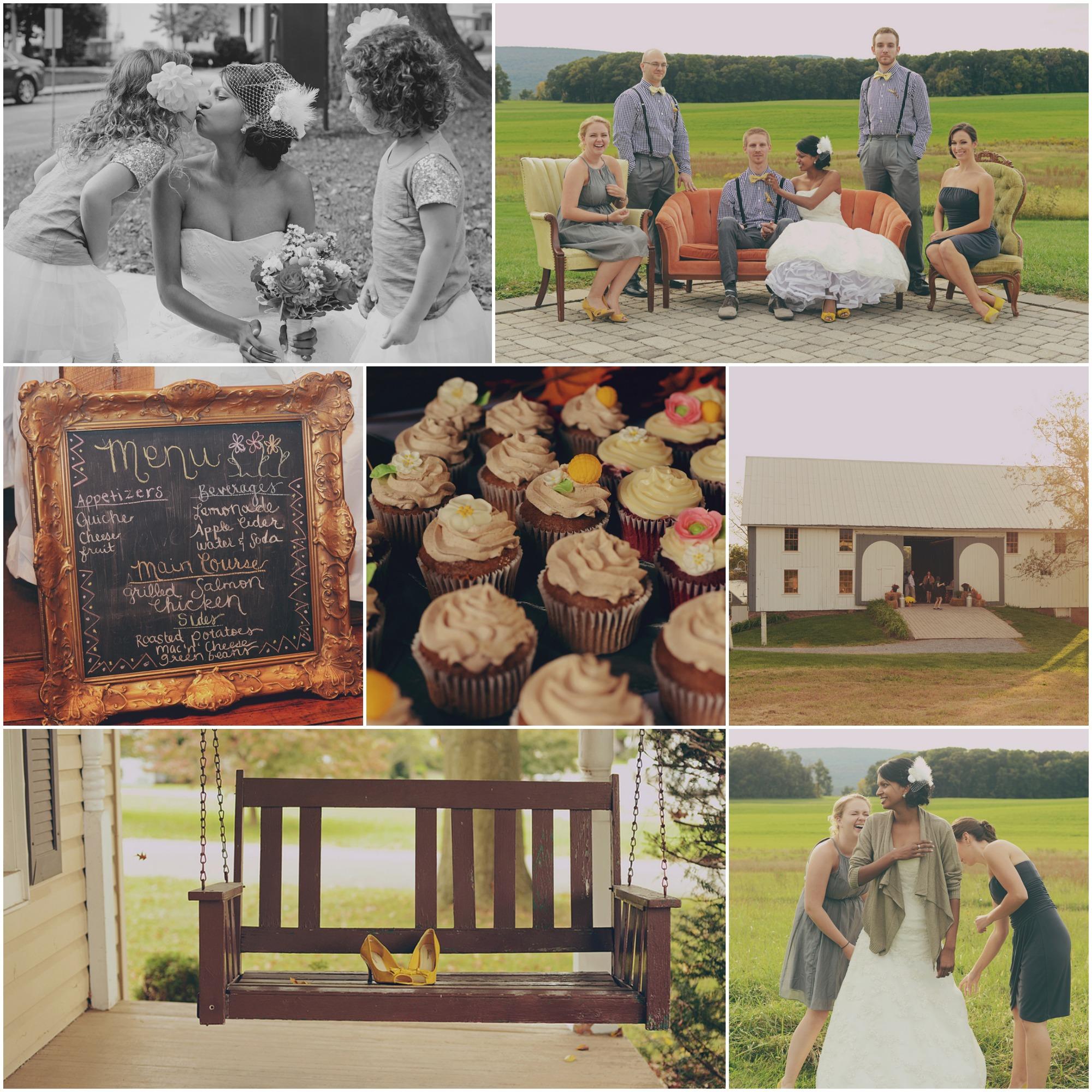 Barn Weddings: Maryland Barn Wedding At Mathwig Barn