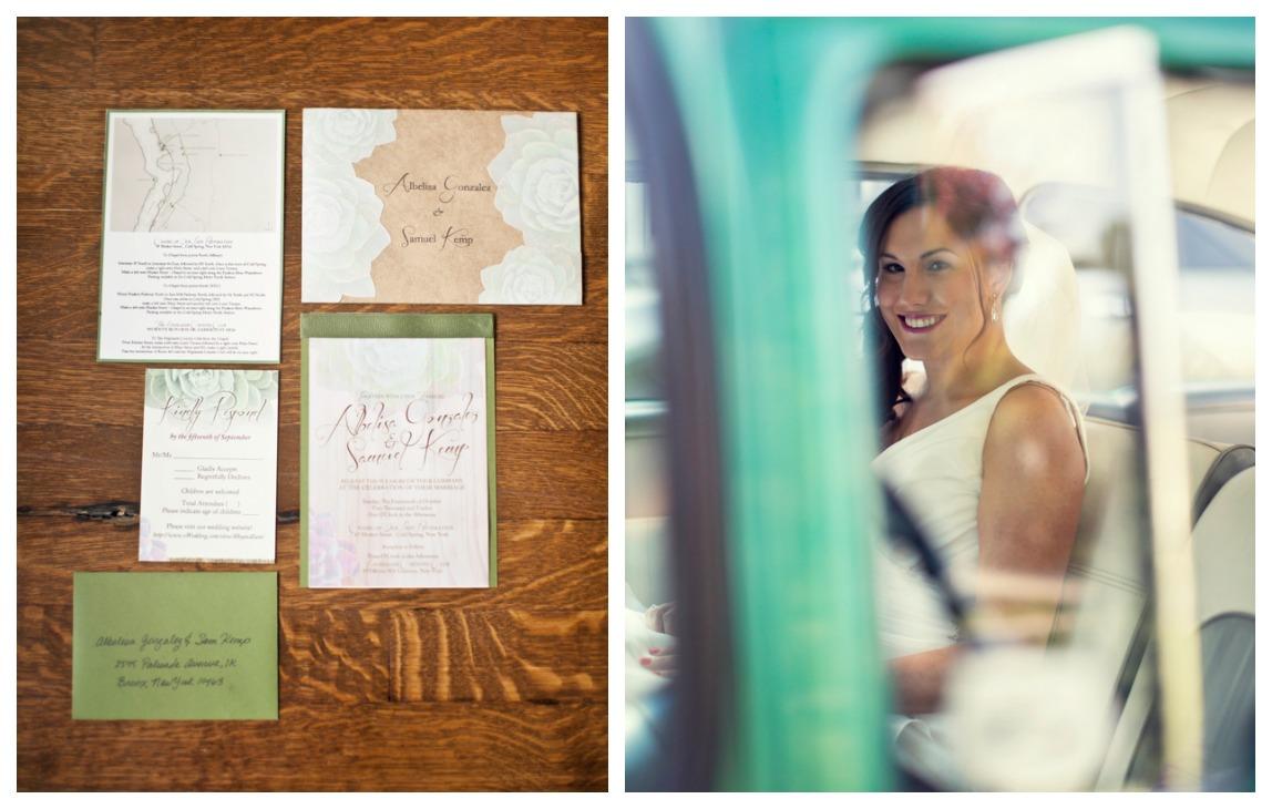 Handmade Rustic Wedding Invitations: Handcrafted Adirondack Wedding