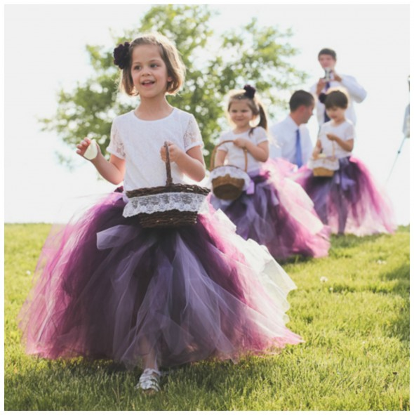 Adorable Flower Girl Tutus!